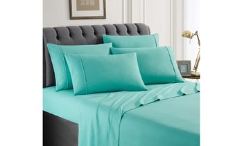 100% Double-Brushed Microfiber Hotel 5th Ave Sheet Set (6-Piece)