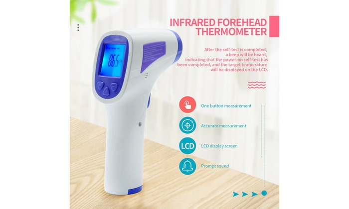 Business & Industrial No Touch Infrared Digital Forehead ...