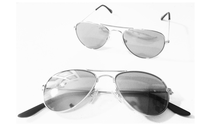 Ages 0 – 3 Baby Toddler Aviator Sunglasses