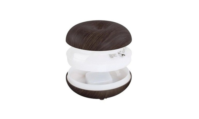 2017 New Mini LED Ultrasonic Air Humidifier Purifier Aroma Diffuser