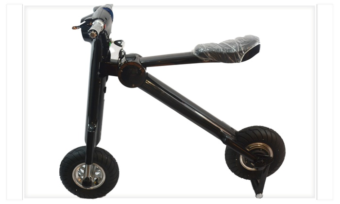 Smart Foldable Electric Bike with Bluetooth and Bag