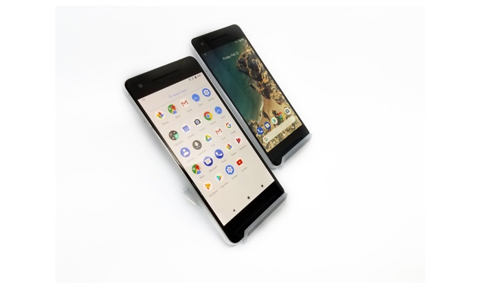 Google Pixel 2 Unlocked (Refurbished B) with fast charger | Groupon