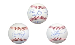 MLB Retired Player Autographed Baseballs