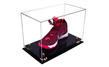 Large Shoe Display Case for Basketball Shoes, Soccer Cleats, Football ddc01c0d-3fb4-4066-b8d4-8448203ca34b