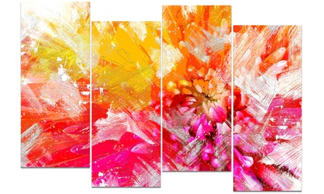 Vibrant Colors Flower Art - Floral Canvas Art 0b52f8ef-29bb-41ca-ac67-fca0688847c6