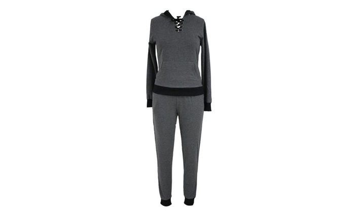Women's Ladies Long  Casual Straight Solid Tracksuits