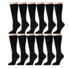 12 Pair Of excell Womens Cotton Extra Heavy Slouch Sock