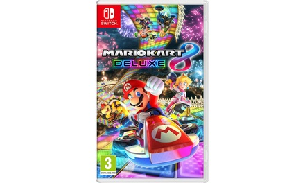 Mario Kart 8 Deluxe for Nintendo Switch (Region Free)