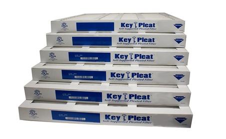 Furnace Air Filters, Purolator Merv 8 Key Pleat (6-Pack) ASHRAE 52.2-2 c1489ac5-d55e-4185-b4e3-c150efb7fcfc