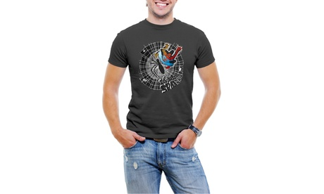 Licensed Marvel Comics The Amazing SpiderMan Men T-Shirt Soft Cotton a0eacf5e-af9f-4d06-9b0a-c5bd87300676