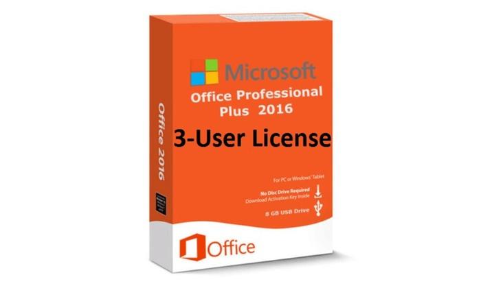 Microsoft Office 2016 Professional Plus Genuine Product Key USB