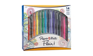 Paper Mate Flair Porous Point Pens (14-Pack)