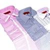 Elie Milano Men's Slim-Fit Plaid Dress Casual Button-Down Shirt