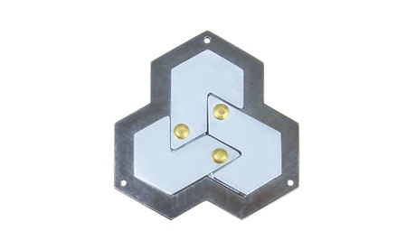 Hanayama Level 4 Cast Puzzle - Hexagon a7255ff2-c47e-4227-b6e8-bd7f4dc0e6c8