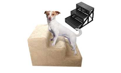 Image Placeholder Image For Washable 3 Steps Soft Portable Pet Stairs For  Dog Cat