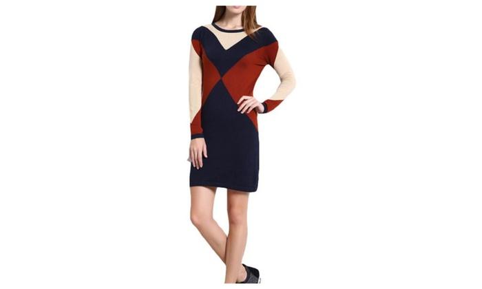 Women's Empire Waist Casual High-Rise Graphic Fashion Dress