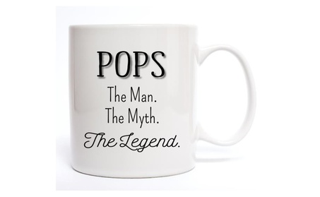 Pops The Man The Myth The Legend Coffee Mug 9d10d7f0-3f83-408b-9348-09e0a2943118