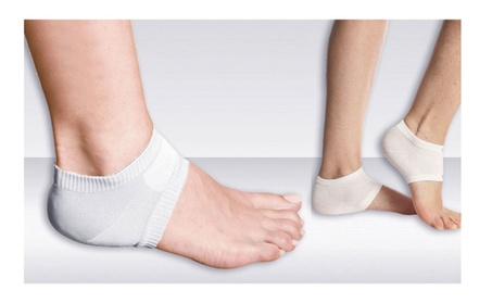 Foot Support Elastic Gym Sock Shin Compression Ankle Heel Protector 842a999a-03d0-4355-99e6-a889230b7664