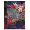 Sheila Golden Tropic Night  Canvas Print
