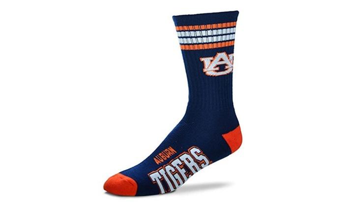 Auburn Tigers 4 Stripe Socks