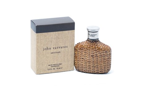 John Varvatos Artisan Men 2.5 oz EDT Spray!