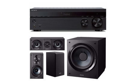 Sony STRDH190 2-ch Stereo Receiver Bluetooth w/ Speakers & Subwoofer 2abf4915-4752-42e2-a5a6-c6c6b4d109ac