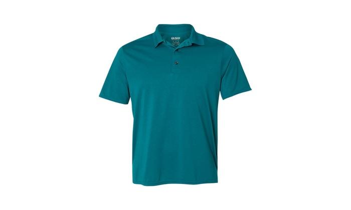 c0c0e2a2b38 Gildan Performance Adult Jersey Polo 44800-3   Groupon