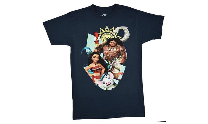 Moana Maui Kookamura Characters T-shirt