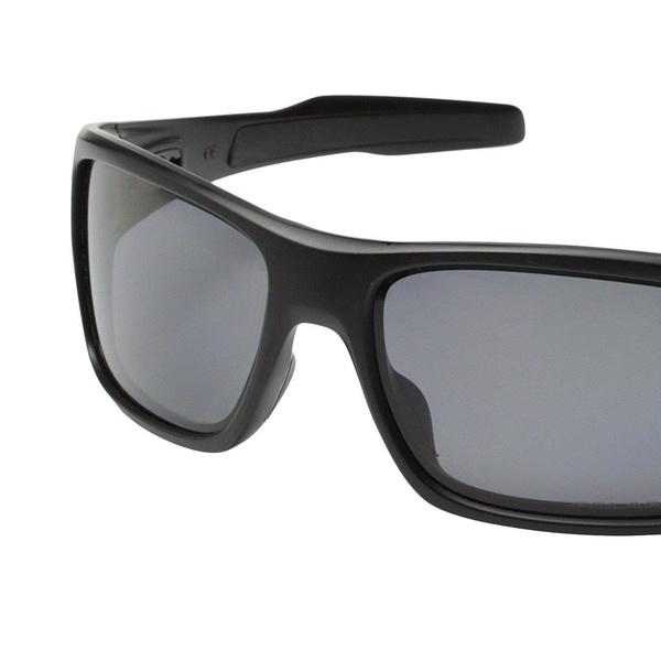 b41350c99a Oakley Turbine OO9263-07 Sunglasses Matte Black Grey Polarized Lens 9263 07