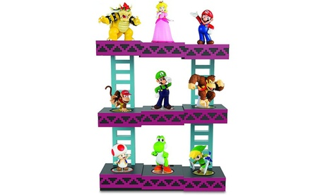 Nintendo Amiibo Donkey Kong Display by PDP Holds 9 Figures BRAND NEW Official 84c9390c-f225-4758-ae1f-a1cc78b58156