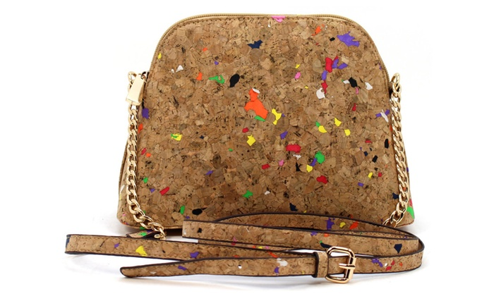 Amy&Joey Corkage Material All Occasions Cross Body Bag