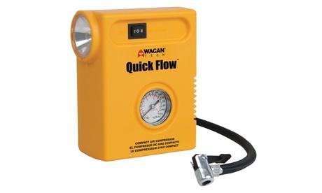 Wagan Tech Quick Flowtm Compact Air Compressor 461b6439-f2f1-4437-8bd9-005e9ad90a62