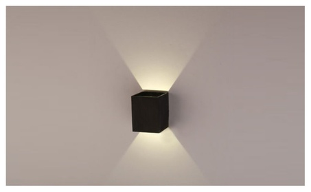 AGPTEK Modern 3W LED Square Wall Lamp Light Fixture c89fd4dd-e279-4c2f-a012-917fe3ee53ba