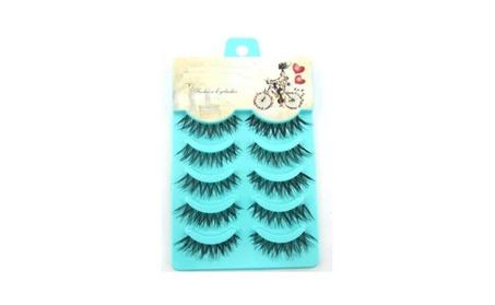 Handmade 5 Pairs Natural Eye Lashes 0048c973-ed5c-4f7a-95e7-91c5fd6f8a10