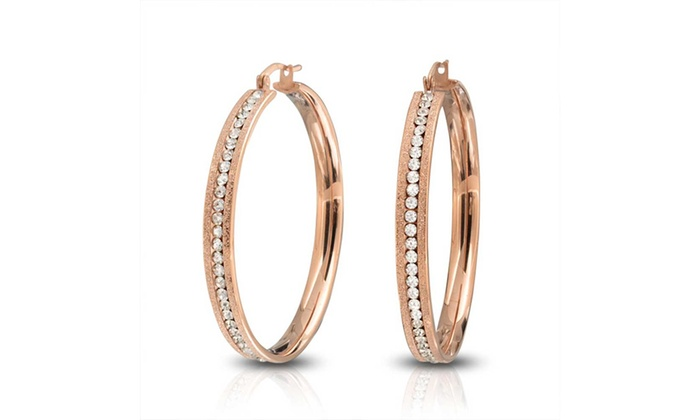 a74bb2f8a Up To 55% Off on Stardust Finish Rose Gold Pla... | Groupon Goods