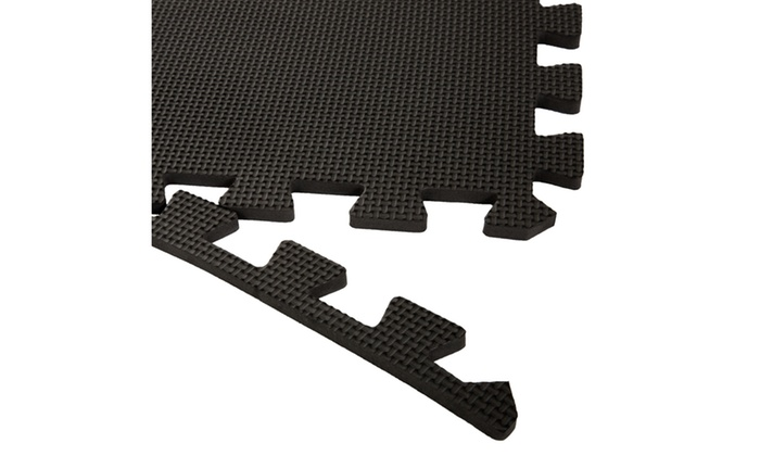 Stalwart Interlocking Eva Foam Floor Mats 24x24x0 375