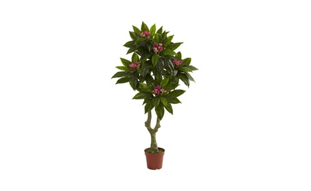 5' Plumeria Tree UV Resistant (Indoor/Outdoor) a55ddebe-6a88-4a61-9c5c-757dc4da3e9f