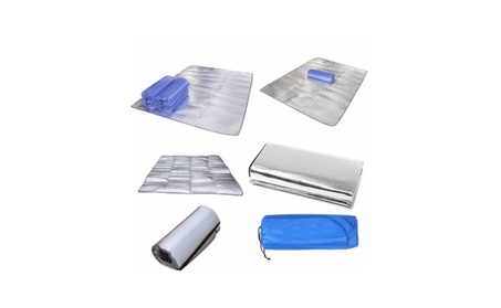 New Aluminum Foil Picnic Grass Blanket Sleeping Mat Cushion 5904cb2f-4d88-48d2-a83a-6aaa54814f78