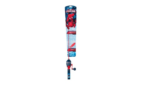 Shakespeare Youth Fishing Kit - Spiderman 356c8183-5f49-42e8-ac35-349f1fad679f