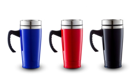 16OZ Stainless Steel Double Wall Insulated Travel Mug Tumbler 6baf712d-222f-47a7-b3ef-e4312d6c0b35