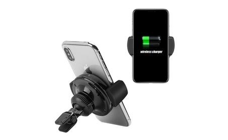 Insten Wireless Charging Qi Standard Air Vent Car Mount Holder Cradle 32c25000-1531-48de-9588-5a6bedef59b4