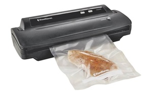 "Foodsaver FM2000-000 Vacuum Food Sealer, 4"" L x 9.2"" W, Black"