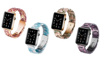 Fashion Colorful Resin Band for Apple Watch Series 5/4/3/2 &1