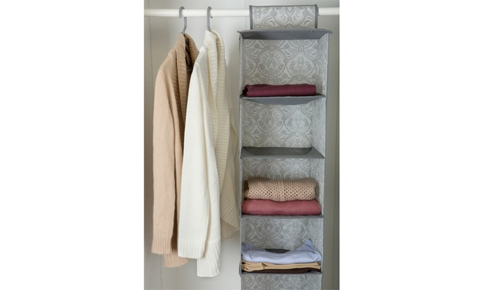 Laura Ashley 6 Shelf Closet Organizer ...