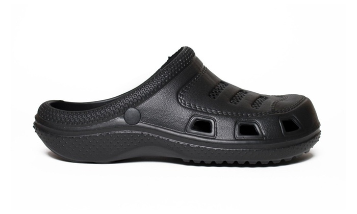 Classic Basic Black Clog Water Resistant