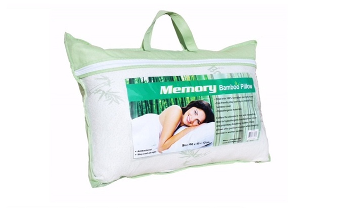 4ashton bamboo memory foam pillow comfort organic hotel pillows