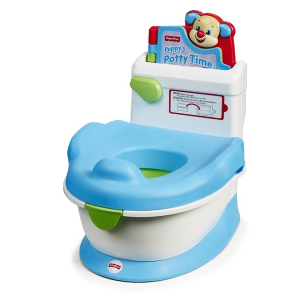 Puppy Potty Electronic Storybook Flushing Sound Fisher-Price Laugh /& Learn