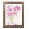 Sheila Golden 'Magenta Hues' Ornate Framed Art