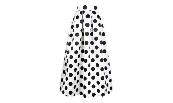 Women's Simple A Line Scalloped Hem Regular Fit Skirts