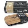 Beard Brush for Men - 100% Natural Boar Bristle, Eco Friendly Bamboo H